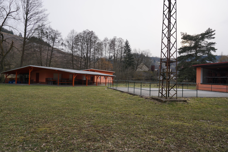 Areál na Bahnech - výletiště
