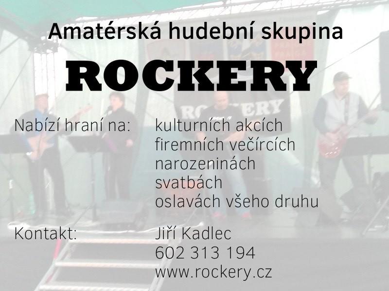 Plakát kapela Rockery