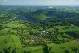 letecký pohled Hluboké